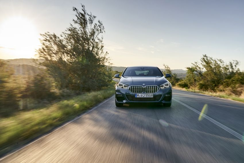 F44 BMW 2 Series Gran Coupé debuts – FWD four-door coupé is Munich's answer to Mercedes CLA Image #1030912