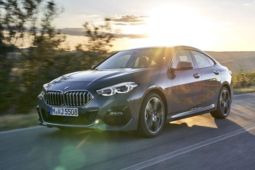F44 BMW 2 Series Gran Coupé debuts – FWD four-door coupé is Munich's answer to Mercedes CLA Image #1030914