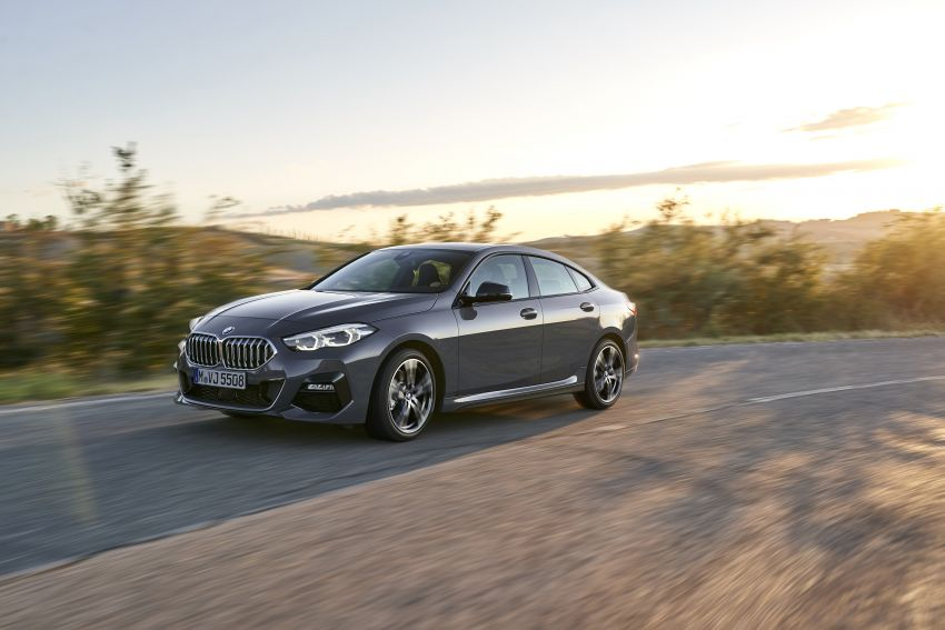 F44 BMW 2 Series Gran Coupé debuts – FWD four-door coupé is Munich's answer to Mercedes CLA Image #1030915