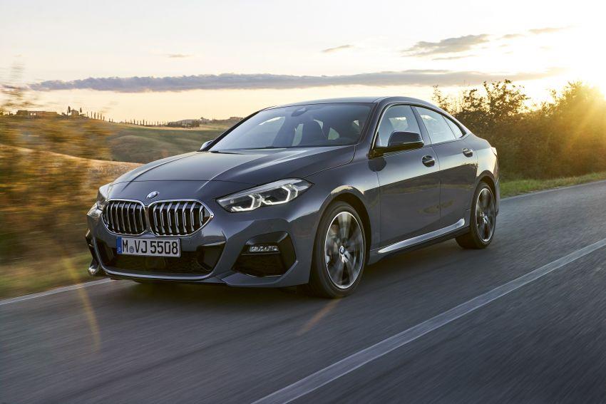 F44 BMW 2 Series Gran Coupé debuts – FWD four-door coupé is Munich's answer to Mercedes CLA Image #1030916