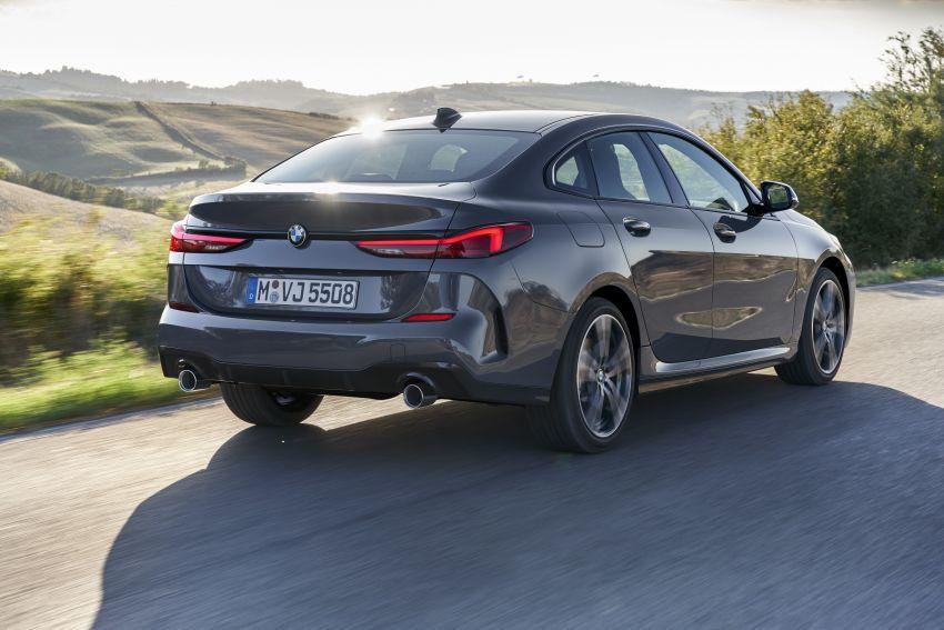 F44 BMW 2 Series Gran Coupé debuts – FWD four-door coupé is Munich's answer to Mercedes CLA Image #1030918