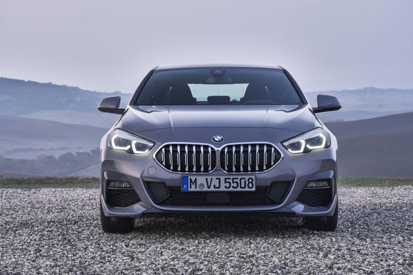 F44 BMW 2 Series Gran Coupé debuts – FWD four-door coupé is Munich's answer to Mercedes CLA Image #1030932