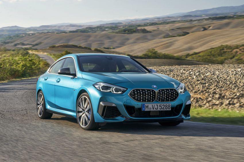 F44 BMW 2 Series Gran Coupé debuts – FWD four-door coupé is Munich's answer to Mercedes CLA Image #1030848