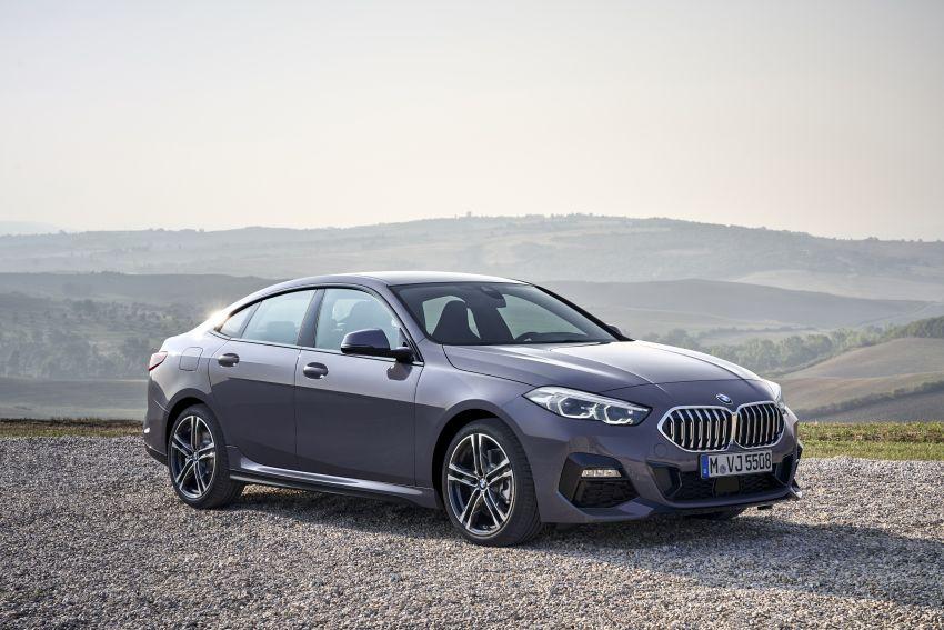 F44 BMW 2 Series Gran Coupé debuts – FWD four-door coupé is Munich's answer to Mercedes CLA Image #1030936