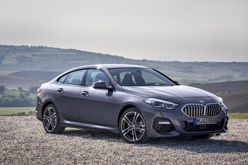 F44 BMW 2 Series Gran Coupé debuts – FWD four-door coupé is Munich's answer to Mercedes CLA Image #1030969