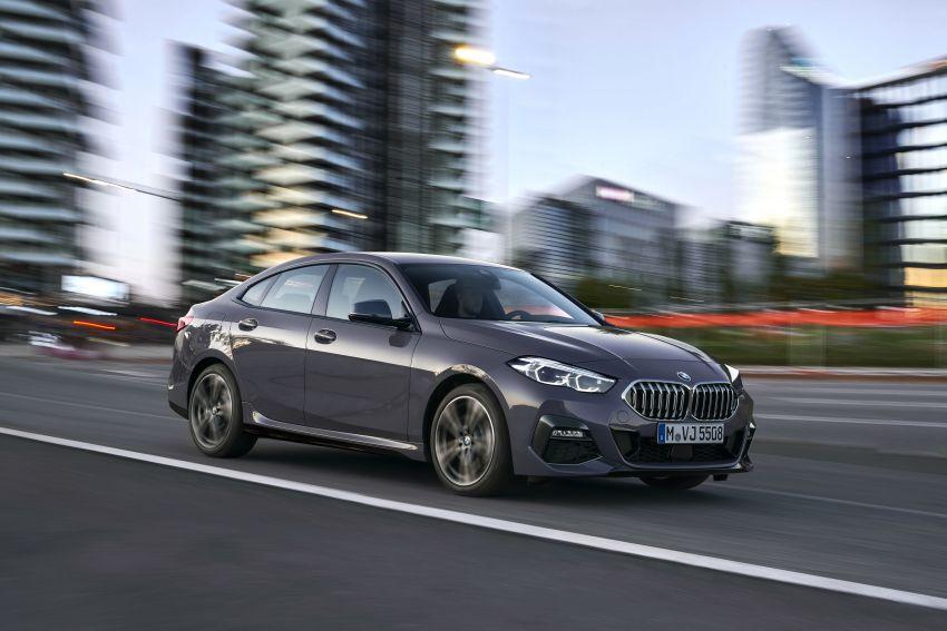 F44 BMW 2 Series Gran Coupé debuts – FWD four-door coupé is Munich's answer to Mercedes CLA Image #1030970