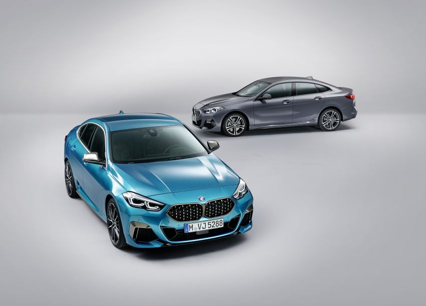 F44 BMW 2 Series Gran Coupé debuts – FWD four-door coupé is Munich's answer to Mercedes CLA Image #1030972