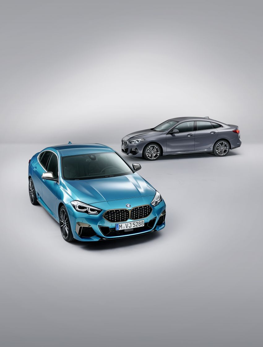F44 BMW 2 Series Gran Coupé debuts – FWD four-door coupé is Munich's answer to Mercedes CLA Image #1030973