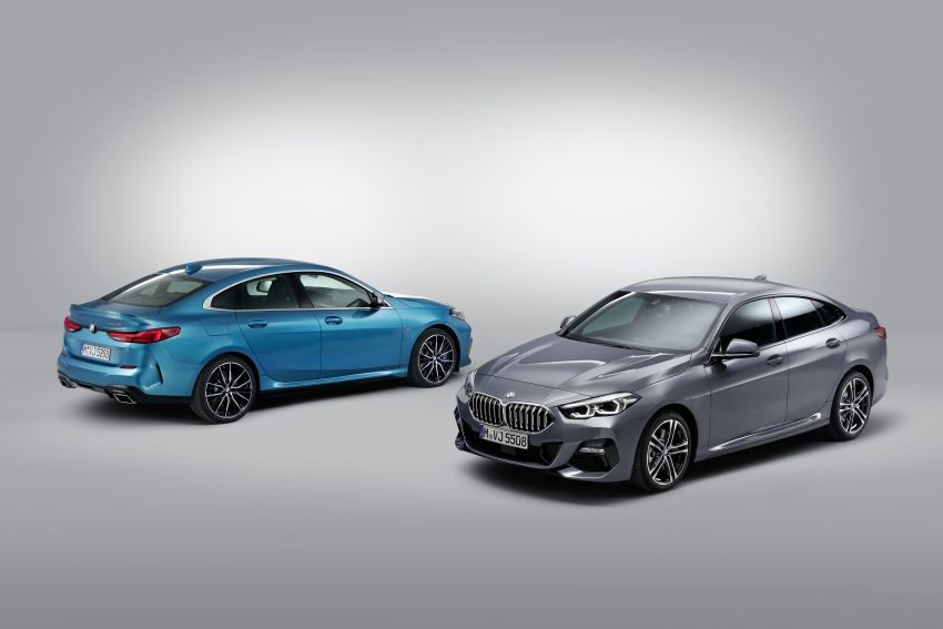 F44 BMW 2 Series Gran Coupé debuts – FWD four-door coupé is Munich's answer to Mercedes CLA Image #1030975