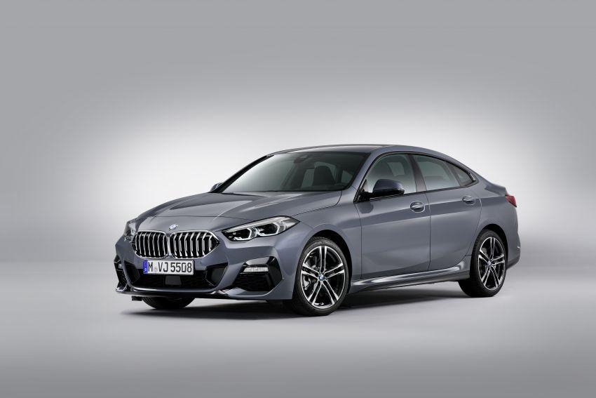 F44 BMW 2 Series Gran Coupé debuts – FWD four-door coupé is Munich's answer to Mercedes CLA Image #1030977