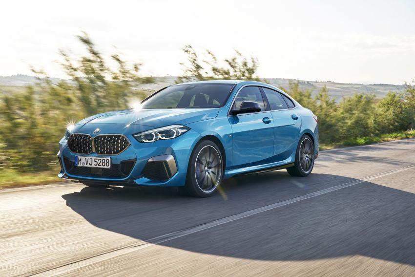 F44 BMW 2 Series Gran Coupé debuts – FWD four-door coupé is Munich's answer to Mercedes CLA Image #1030849