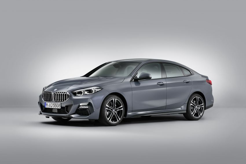 F44 BMW 2 Series Gran Coupé debuts – FWD four-door coupé is Munich's answer to Mercedes CLA Image #1030978