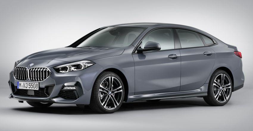 F44 BMW 2 Series Gran Coupé debuts – FWD four-door coupé is Munich's answer to Mercedes CLA Image #1030978