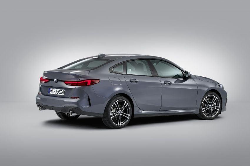 F44 BMW 2 Series Gran Coupé debuts – FWD four-door coupé is Munich's answer to Mercedes CLA Image #1030979