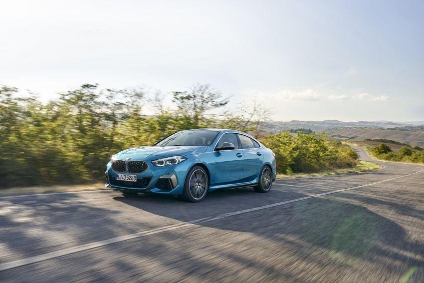 F44 BMW 2 Series Gran Coupé debuts – FWD four-door coupé is Munich's answer to Mercedes CLA Image #1030850