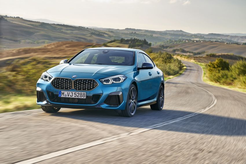 F44 BMW 2 Series Gran Coupé debuts – FWD four-door coupé is Munich's answer to Mercedes CLA Image #1030851