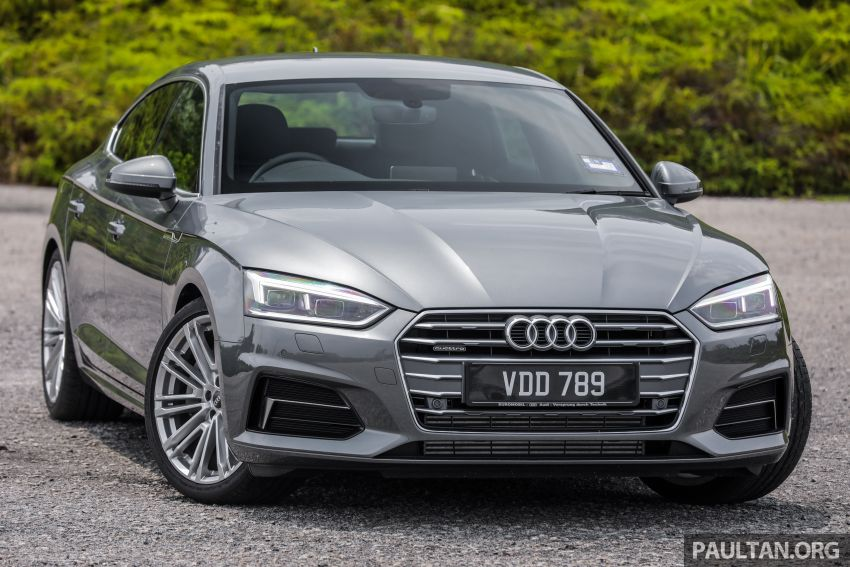 FIRST DRIVE: 2019 F5 Audi A5 Sportback in Malaysia Image #1036202