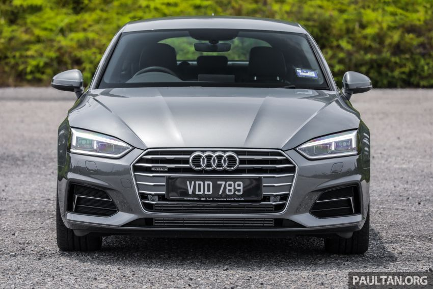 FIRST DRIVE: 2019 F5 Audi A5 Sportback in Malaysia Image #1036212