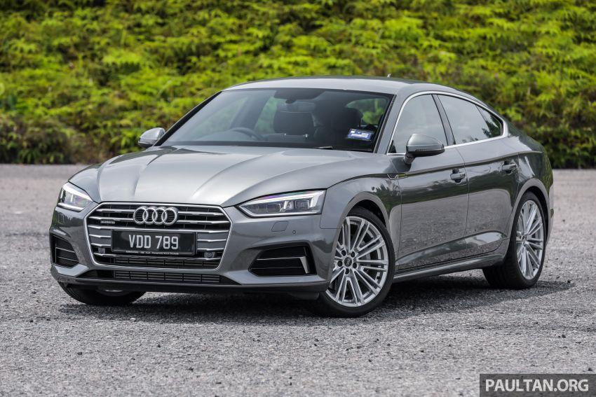 FIRST DRIVE: 2019 F5 Audi A5 Sportback in Malaysia Image #1036204