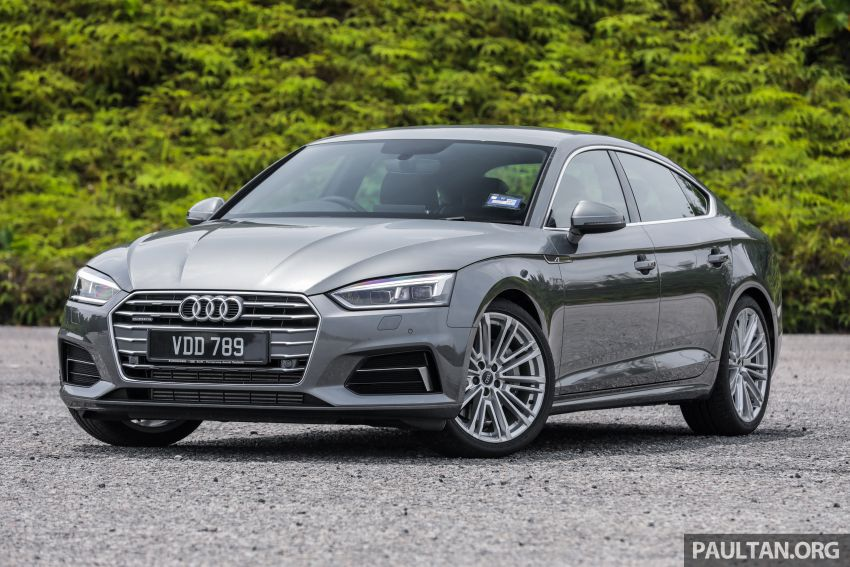 FIRST DRIVE: 2019 F5 Audi A5 Sportback in Malaysia Image #1036205