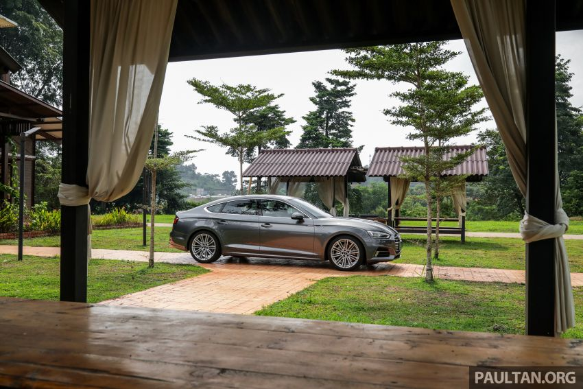 FIRST DRIVE: 2019 F5 Audi A5 Sportback in Malaysia Image #1036241