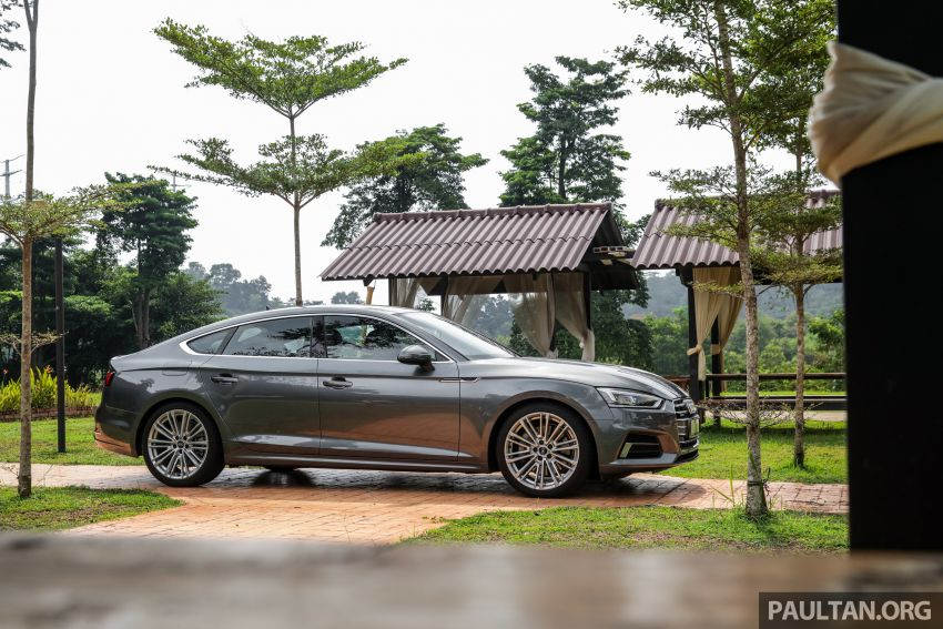 FIRST DRIVE: 2019 F5 Audi A5 Sportback in Malaysia Image #1036242