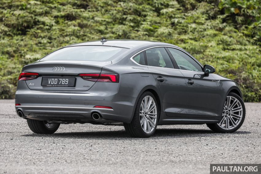 FIRST DRIVE: 2019 F5 Audi A5 Sportback in Malaysia Image #1036207