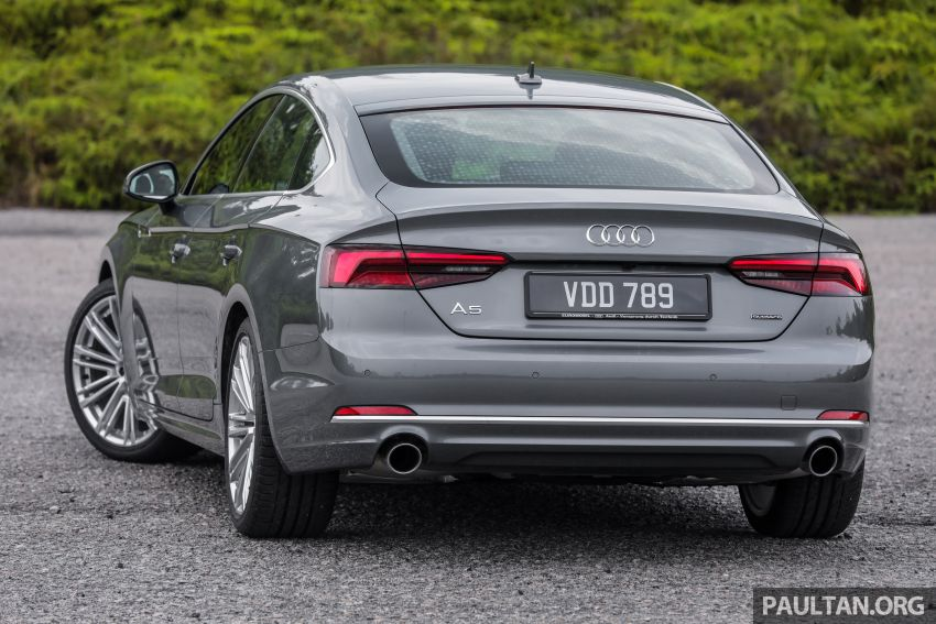 FIRST DRIVE: 2019 F5 Audi A5 Sportback in Malaysia Image #1036208