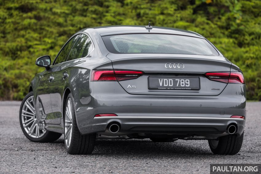 FIRST DRIVE: 2019 F5 Audi A5 Sportback in Malaysia Image #1036209