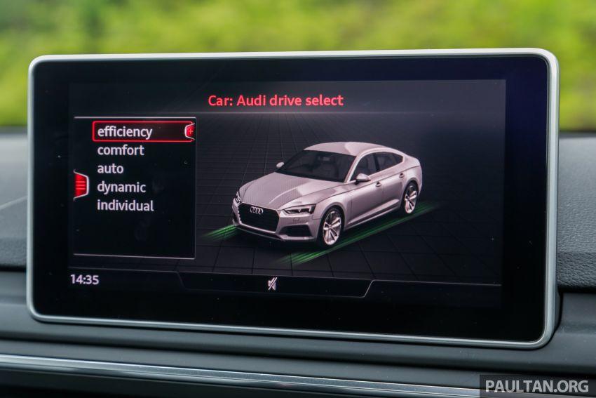 FIRST DRIVE: 2019 F5 Audi A5 Sportback in Malaysia Image #1036263