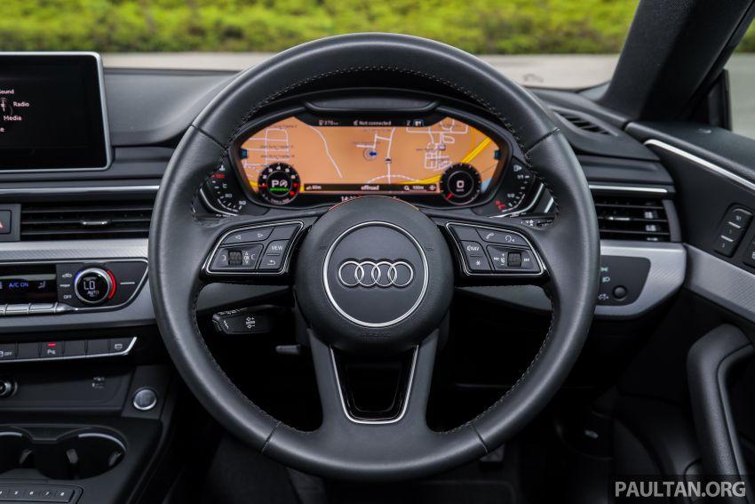 FIRST DRIVE: 2019 F5 Audi A5 Sportback in Malaysia Image #1036246