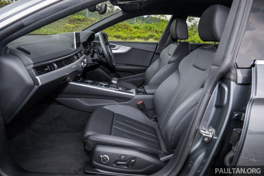 FIRST DRIVE: 2019 F5 Audi A5 Sportback in Malaysia Image #1036287
