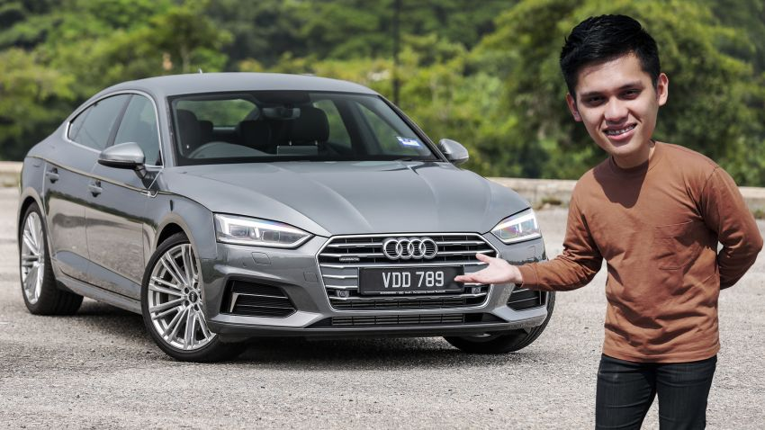 FIRST DRIVE: 2019 F5 Audi A5 Sportback in Malaysia Image #1036190