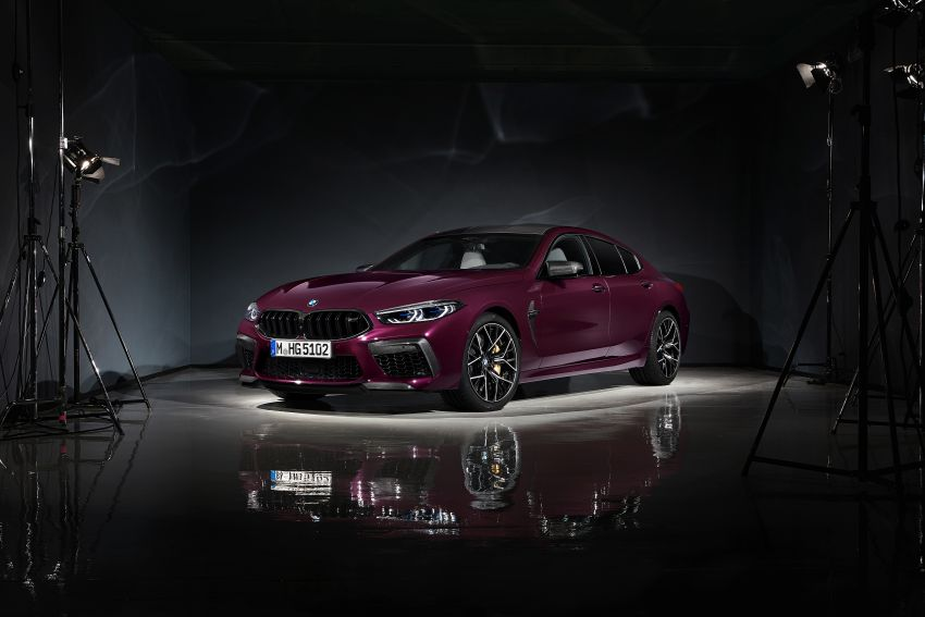 F93 BMW M8 Gran Coupé: four-door coupé with 625 hp Image #1027777