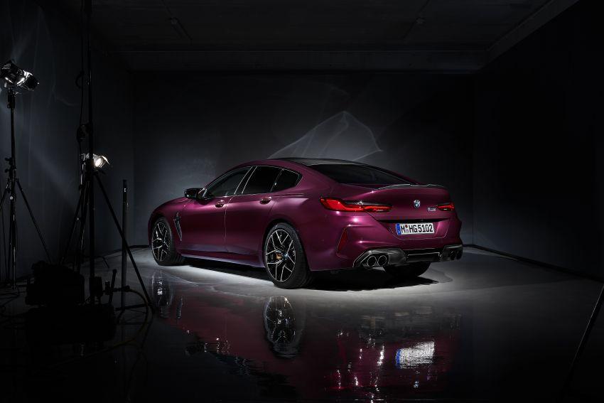 F93 BMW M8 Gran Coupé: four-door coupé with 625 hp Image #1027858