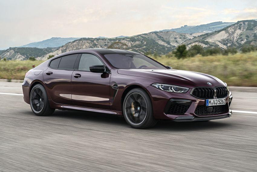 F93 BMW M8 Gran Coupé: four-door coupé with 625 hp Image #1027985