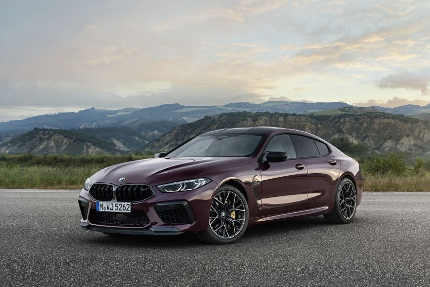 F93 BMW M8 Gran Coupé: four-door coupé with 625 hp Image #1027986