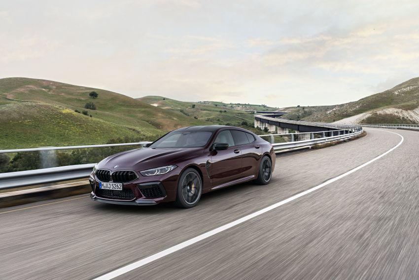 F93 BMW M8 Gran Coupé: four-door coupé with 625 hp Image #1027988