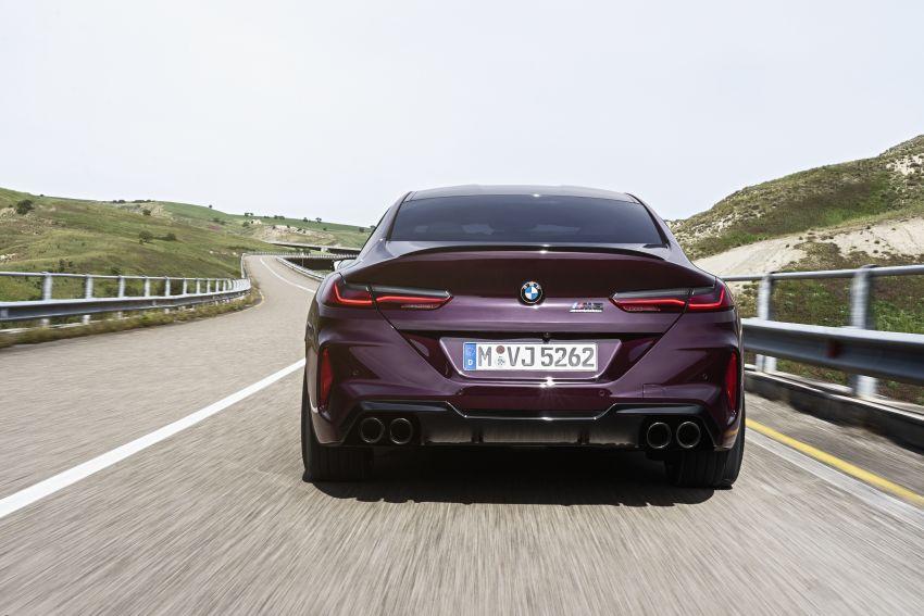 F93 BMW M8 Gran Coupé: four-door coupé with 625 hp Image #1027993
