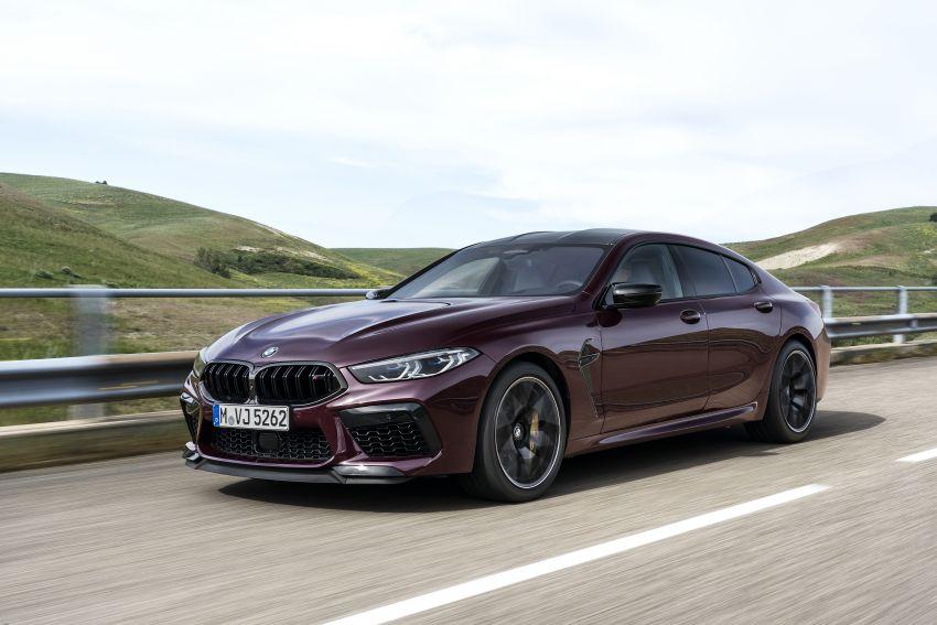 F93 BMW M8 Gran Coupé: four-door coupé with 625 hp Image #1028061