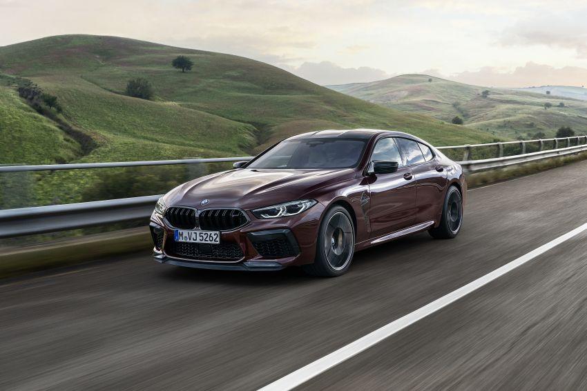F93 BMW M8 Gran Coupé: four-door coupé with 625 hp Image #1027997
