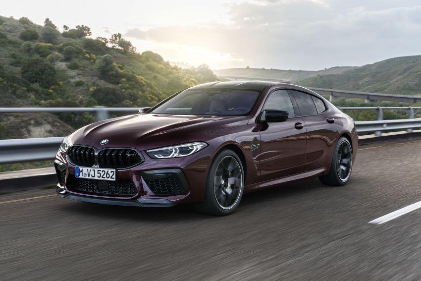 F93 BMW M8 Gran Coupé: four-door coupé with 625 hp Image #1028002