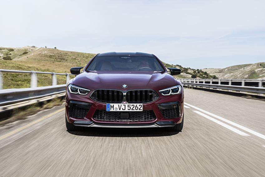 F93 BMW M8 Gran Coupé: four-door coupé with 625 hp Image #1028004