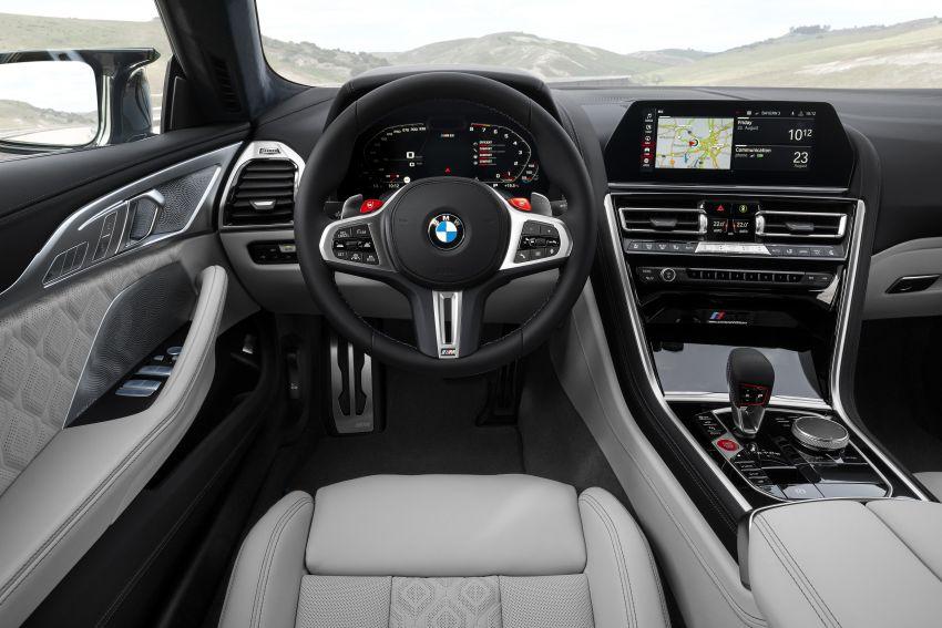 F93 BMW M8 Gran Coupé: four-door coupé with 625 hp Image #1028005