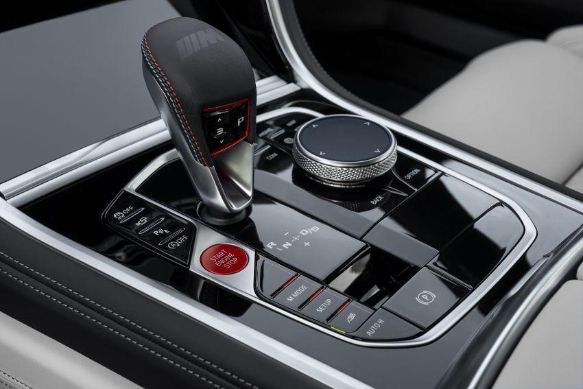 F93 BMW M8 Gran Coupé: four-door coupé with 625 hp Image #1028007