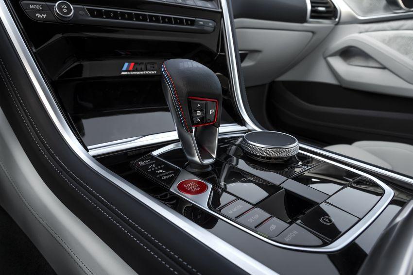 F93 BMW M8 Gran Coupé: four-door coupé with 625 hp Image #1028009