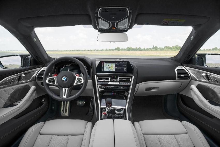 F93 BMW M8 Gran Coupé: four-door coupé with 625 hp Image #1028011