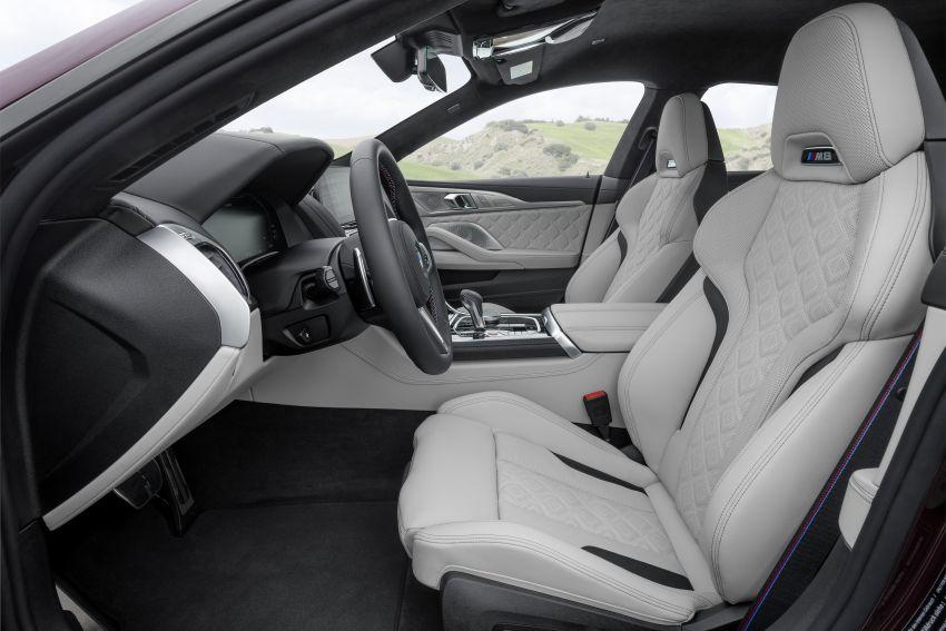 F93 BMW M8 Gran Coupé: four-door coupé with 625 hp Image #1028013