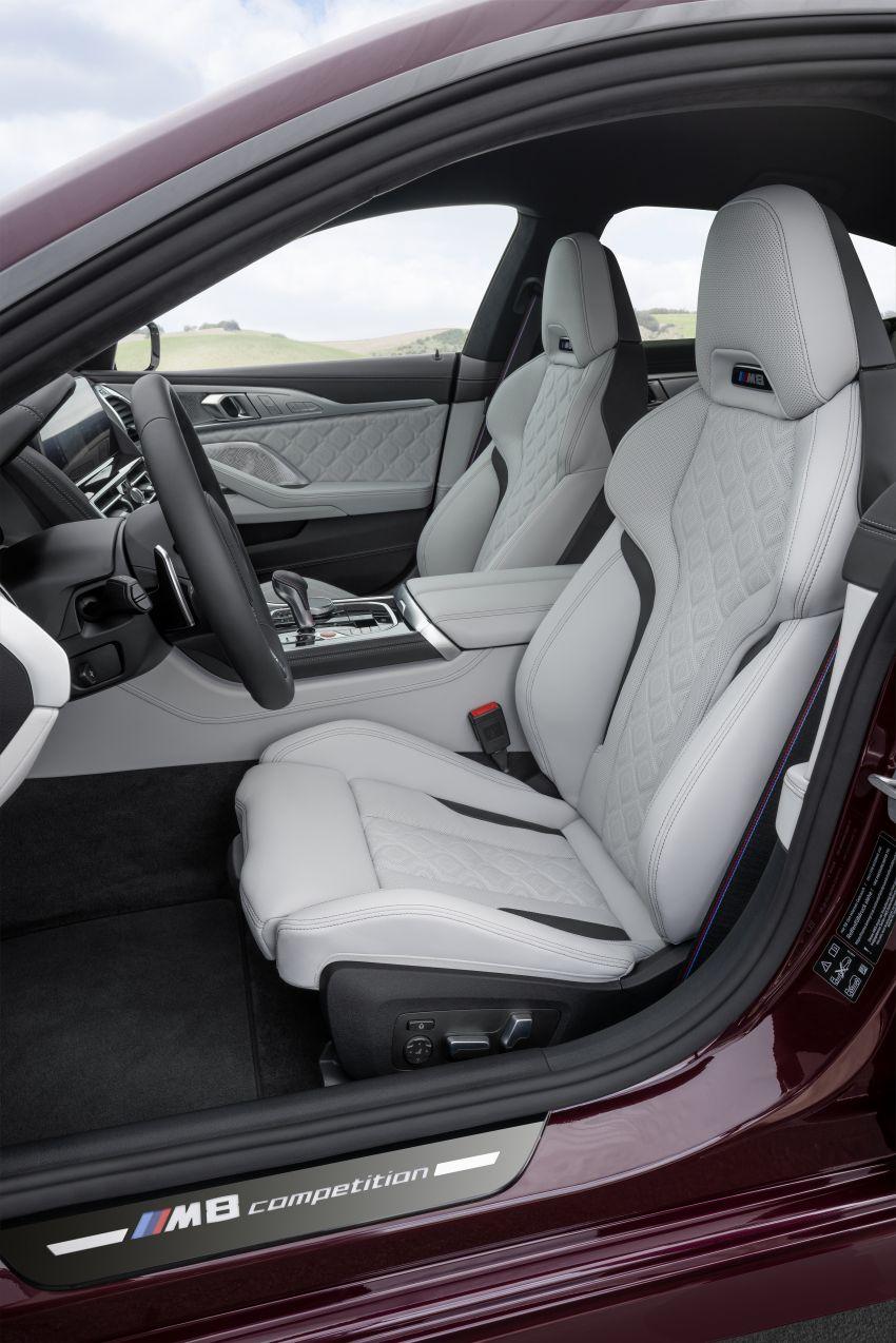 F93 BMW M8 Gran Coupé: four-door coupé with 625 hp Image #1028014