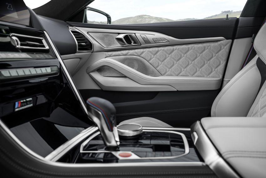 F93 BMW M8 Gran Coupé: four-door coupé with 625 hp Image #1028016